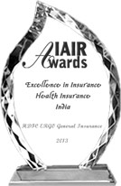HDFC ERGO is awarded for Excellence in General Insurance